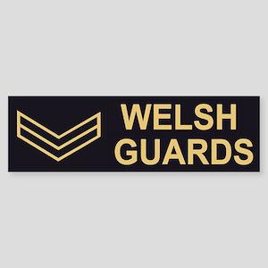 Welsh Guards LCpl<BR> Bumpersticker 2