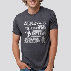 The Lineman's Wife T Shirt T-Shirt