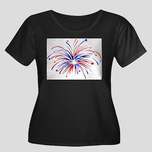 firework.JPG Plus Size T-Shirt