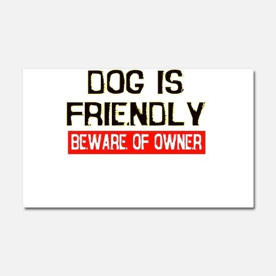 dog.png Car Magnet 20 x 12