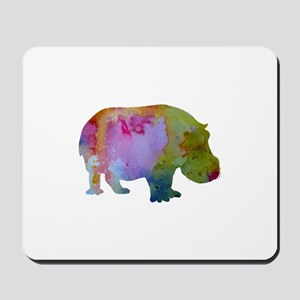 Hippopotamus Mousepad