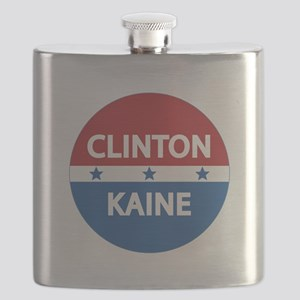 Clinton Kaine 2016 Flask