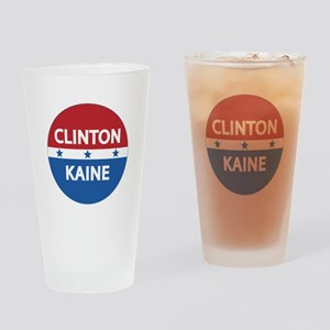 Clinton Kaine 2016 Drinking Glass