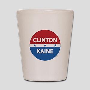Clinton Kaine 2016 Shot Glass