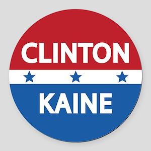 Clinton Kaine 2016 Round Car Magnet
