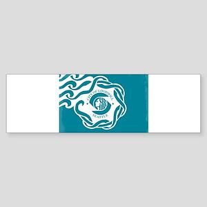 Seattle City Flag Bumper Sticker