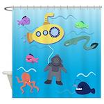 Deep Sea Diver Shower Curtain