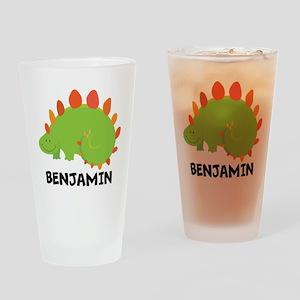 Dinosaur Personalized Cute Animals Drinking Glass