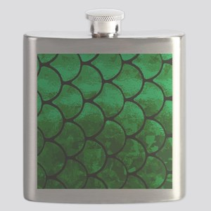 fish scales Flask
