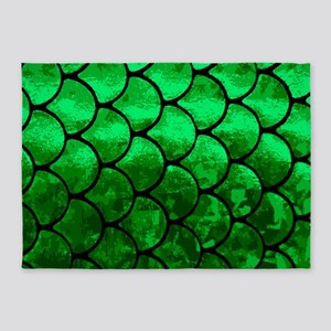 fish scales 5'x7'Area Rug