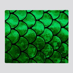 fish scales Throw Blanket