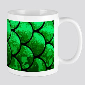fish scales Mugs