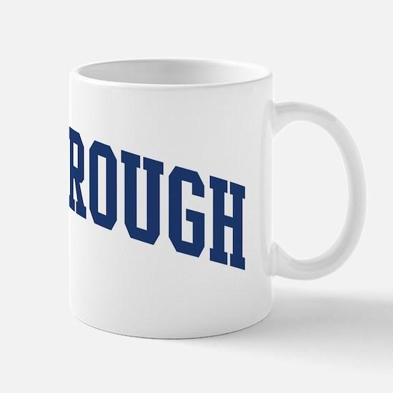SCARBOROUGH design (blue) Mug