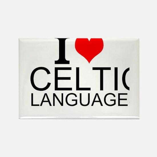 I Love Celtic Languages Magnets