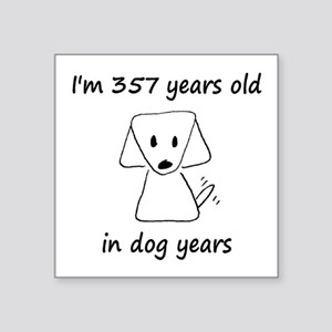 51 Dog Years 6-2 Sticker