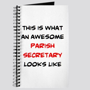 awesome parish secretary Journal
