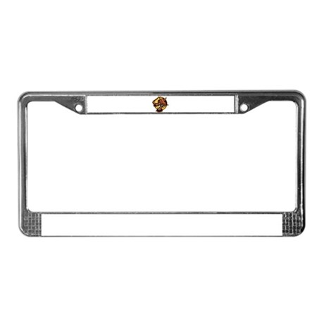 Fierce Red Dragon License Plate Frame by Admin_CP51336015