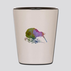 Kiwi Bird Shot Glass