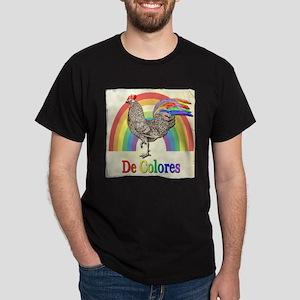 Vintage Rooster De Colores T-Shirt