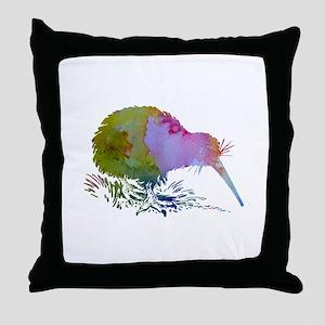 Kiwi Bird Throw Pillow
