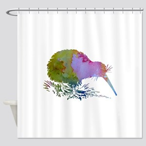 Kiwi Bird Shower Curtain