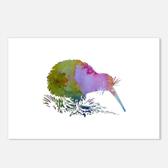 Kiwi Bird Postcards (Package of 8)