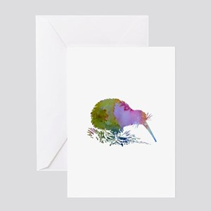 Kiwi Bird Greeting Cards