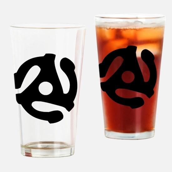 Unique 45rpm Drinking Glass