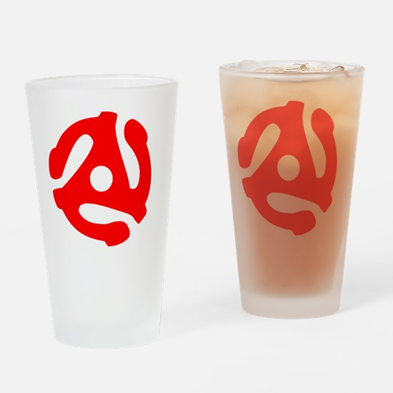Funny 45rpm Drinking Glass