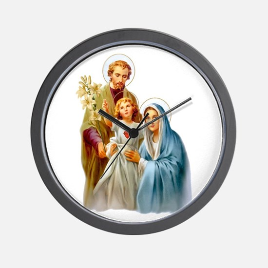The Holy Family (Style 2) Wall Clock