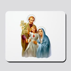 The Holy Family (Style 2) Mousepad