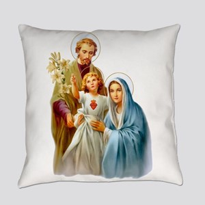 The Holy Family (Style 2) Everyday Pillow