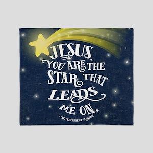 Jesus Star Throw Blanket