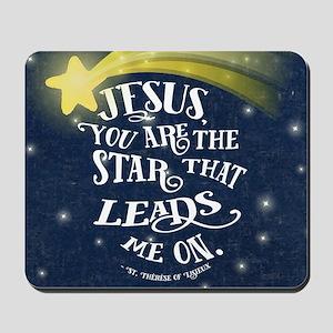 Jesus Star Mousepad