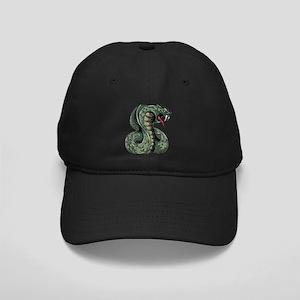 Striking Green Cobra Black Cap