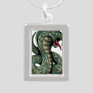 Striking Green Cobra Necklaces