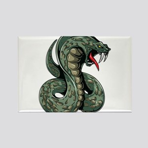 Striking Green Cobra Magnets