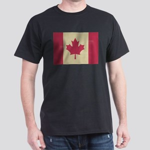 grunge canadian flag T-Shirt