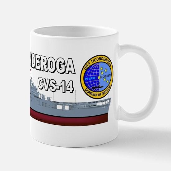 USS Ticonderoga CV-14 Mug