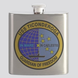 USS Ticonderoga CV-14 Flask