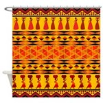 African Tribal Shower Curtain