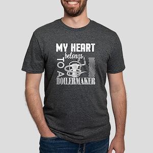 My Heart Belongs To A Boilermaker T Shirt T-Shirt