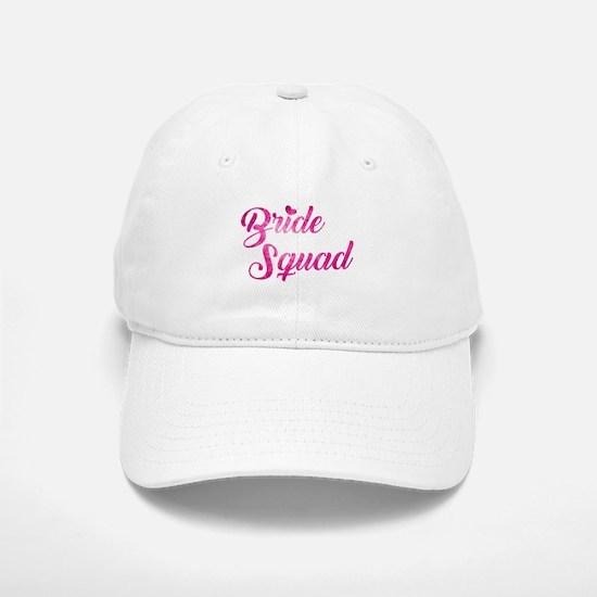 BRIDE SQUAD Baseball Baseball Cap