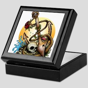 Anchored Keepsake Box