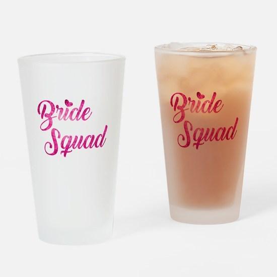 BRIDE SQUAD Drinking Glass