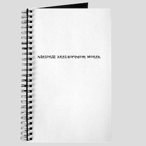 National Anti-Boredom Month Journal