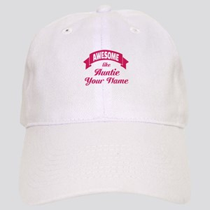 Awesome Like Auntie Pink Baseball Cap