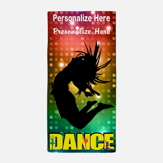 Dance Custom Beach Towel