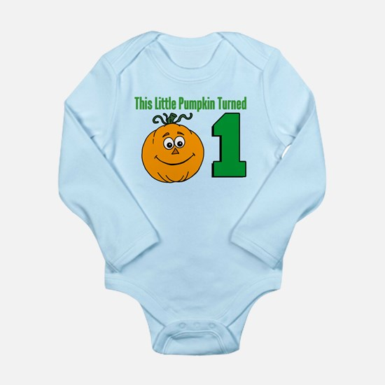Little Pumpkin Turned One Body Suit