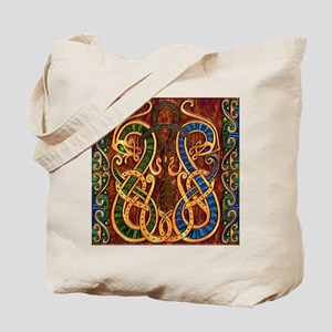 Harvest Moon's Viking Dragons Tote Bag